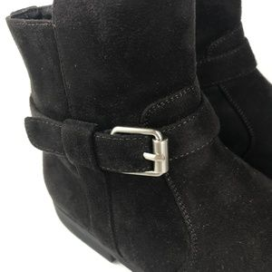 Calvin Klein Mens Lincoln Boots Ankle Zipper Suede Calvin Klein Lincoln Boots Shoes